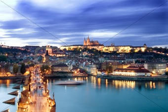 Prague Castle Cityscape