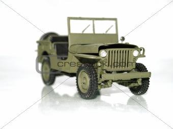 Army car