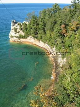 Great Lakes cliffs