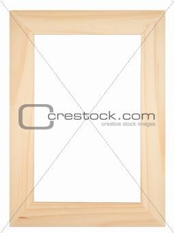 Old wooden photoframe