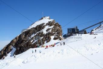 Austrian Alps Skiers