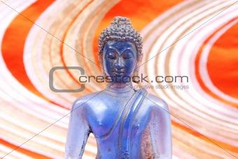 Blue Buddha.