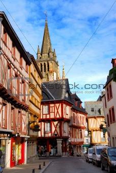 Medieval Vannes, France.