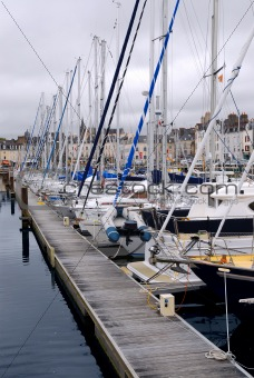 Harbor in Vannes, France