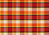 red-yellow-orange fabric pattern