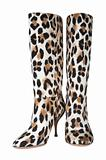Female spotty boots