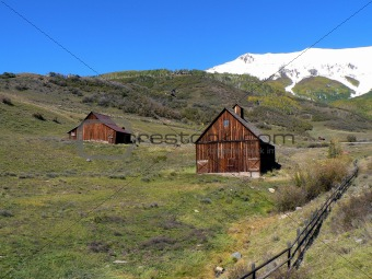 Old Barns in the High Country