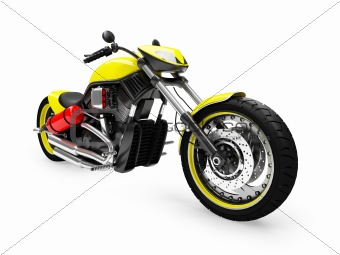 isolated moto front view 01