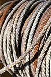 Old steel cable