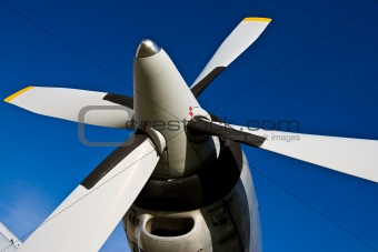 Four bladed propeller
