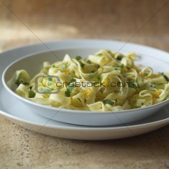 close up of pasta dish