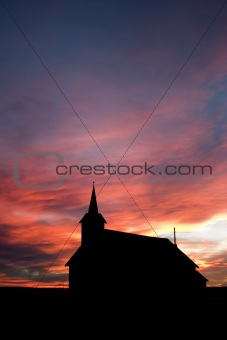 Church during Sunset