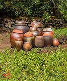 Clay Kimchi Pots