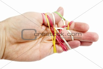 Rubber Band Tangle