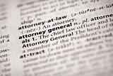Dictionary Series - Politics: attorney general
