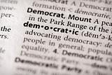 Dictionary Series - Politics: democratic