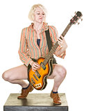 Serious Guitarist