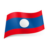 State flag of Laos.