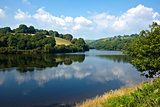 Lliw reservoir near Swansea