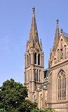 Church. Ludmila in Prague