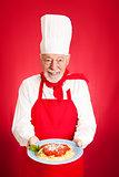 Italian Chef - Spaghetti Marinara