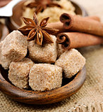 Brown Cane Sugar,Cinnamon And Anise Star