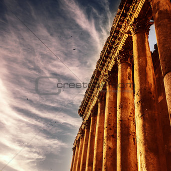 Famous jupiter columns