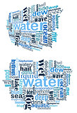 Water tag cloud