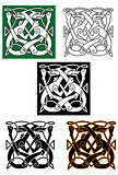 Abstract celtic pattern