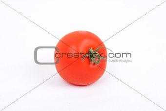 tomatos on a white background