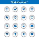 Web buttons set 1