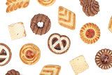 Various cookies pattern