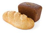 Two loafs of bread