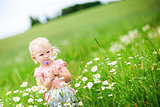 child in the field