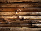 Texture of Old Timber Wood Wall