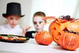 Halloween festive