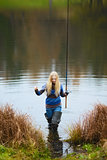 Woman Fishing