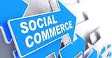 Social Commerce. Business Concept.