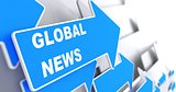 Global News. Information Concept.