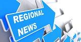 Regional News. Information Concept.