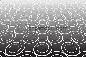 Abstract textured background. Pattern with spiral elements.