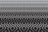 Abstract op art background. Textured surface.
