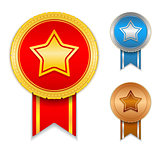 Medals with Stars