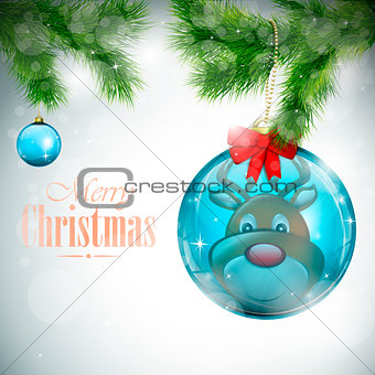 Christmas Card eps10 vector illustration