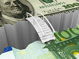 bridge between euro and dollar