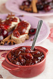 Spicy cherry jam