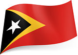 State flag of East Timor.