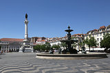 Lisbon Portugal Rossio
