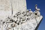 Monument for the conquerers in Lisbon Portugal
