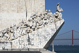 Memorial for the conquerers in Lisbon Portugal